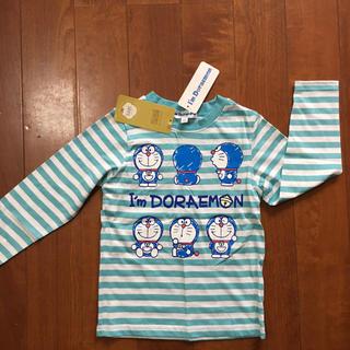 サンリオ(サンリオ)のドラえもん ロングTシャツ 110 男の子 長袖ロンT 春秋 コットン サックス(Tシャツ/カットソー)