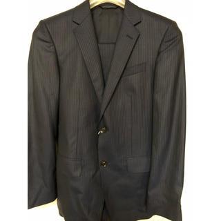 オリヒカ(ORIHICA)の9/30までの特別SALE❣️新品スーツ紺色亀梨和也がCM着用 ストライプスーツ(セットアップ)