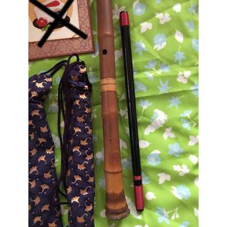アンティーク 横笛 縦笛 インテリア 和楽器 和室 床の間 飾り 和物(横笛)