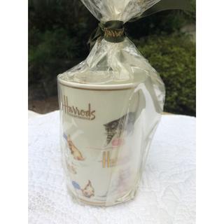 ハロッズ(Harrods)のハロッズ 猫 マグカップ(グラス/カップ)
