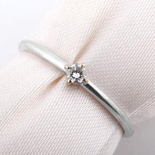 ココシュニック(COCOSHNIK)のココシュニック ダイヤモンドリング 1PD K10 0.9g (N02028)(リング(指輪))