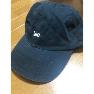 リー(Lee)のLee キャップ ブラック(キャップ)