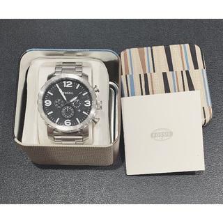 フォッシル(FOSSIL)の新品 フォッシル JR1353 NATE ステンレススティール  腕時計(腕時計(アナログ))