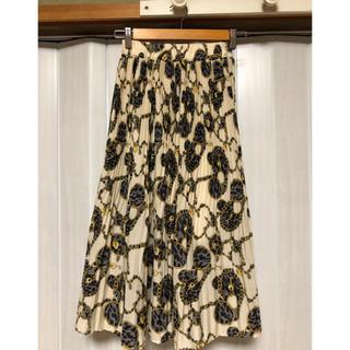 アンティローザ(Auntie Rosa)のアンティローザSHAGGIE  プリーツスカート(ロングスカート)