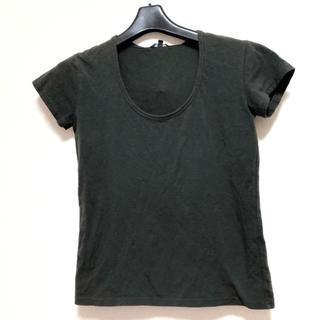 セオリー(theory)のセオリー 半袖Tシャツ サイズ2 S カーキ(Tシャツ(半袖/袖なし))