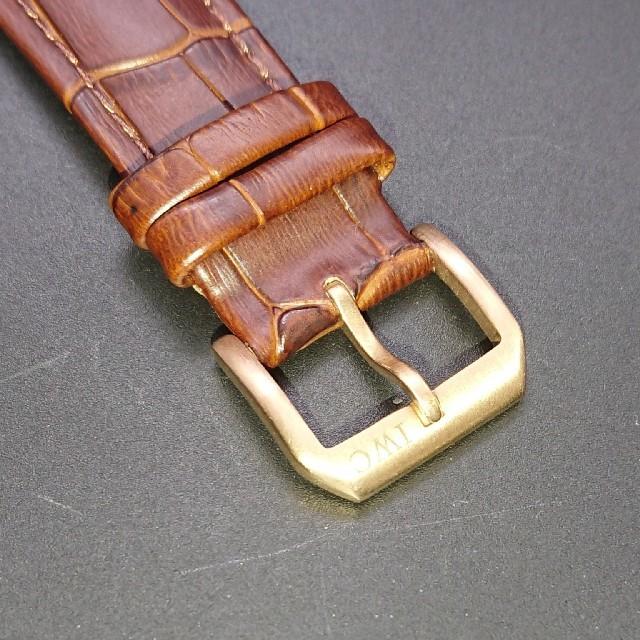 IWC(インターナショナルウォッチカンパニー)の本日限定価格サン&ムーン  手巻き IWCネーム  ダブルゼンマイ  スモセコ  メンズの時計(腕時計(アナログ))の商品写真