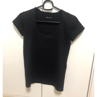 セオリー(theory)のtheory ブラック Tシャツ カットソー(Tシャツ(半袖/袖なし))