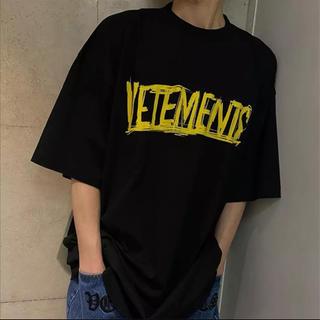 saintvêtement (saintv・tement) - ヴェトモン バックロゴ ビッグシルエット Tシャツ ロゴ
