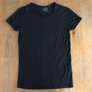 ダブルジェーケー(wjk)のwjk  Tシャツ Sサイズ ブラック 黒 半袖 カットソー  メンズ(Tシャツ/カットソー(半袖/袖なし))