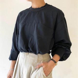 トゥデイフル(TODAYFUL)のTODAYFUL Vintage Smooth Pullover  トップス(カットソー(長袖/七分))