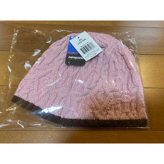 パタゴニア(patagonia)のPatagonia  パタゴニア ウール 帽子 新品未使用 ニット帽(ニット帽/ビーニー)
