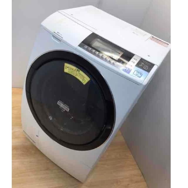 日立(ヒタチ)のドラム式洗濯機 ビッグドラム スリム ドラム式 洗濯機 10キロ 乾燥機 スマホ/家電/カメラの生活家電(洗濯機)の商品写真