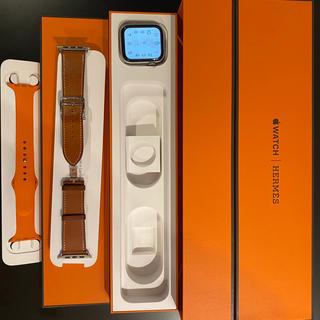 アップルウォッチ(Apple Watch)のアップルウォッチ4 エルメス 44mm AppleCare2022/1/14まで(腕時計(デジタル))