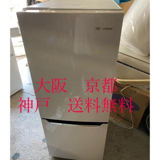 Hisense 2ドア冷凍冷蔵庫  HR-D15A   2017年製 (冷蔵庫)