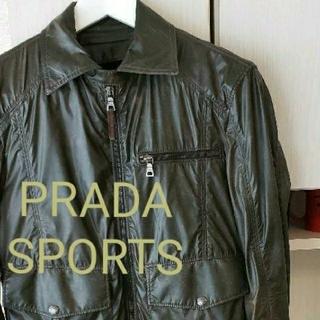 プラダ(PRADA)のPRADA SPORTS ナイロンジャケット size44(ナイロンジャケット)