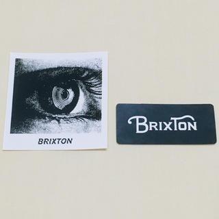ロンハーマン(Ron Herman)のBRIXTON ブリクストン  ステッカー 2枚セット 新品 送料込み(スケートボード)