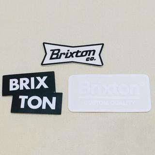 ロンハーマン(Ron Herman)のBRIXTON ブリクストン  ステッカー 3枚セット 新品 送料込み(スケートボード)