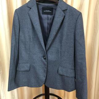 グリーンレーベルリラクシング(green label relaxing)のスーツ ジャケット スカート グレー(スーツ)