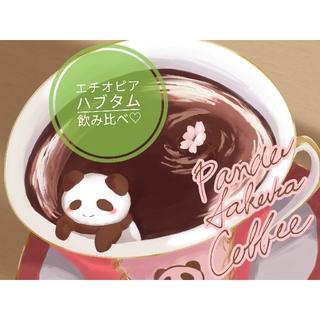 エチオピア🇪🇹ハブタム ナチュラルウオッシュト飲み比べ 各100g 送料無料(コーヒー)