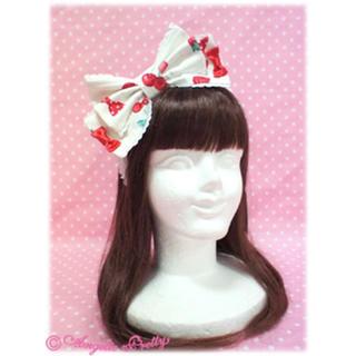 アンジェリックプリティー(Angelic Pretty)のStrawberry Parlour Head Bow(その他)