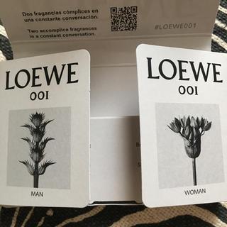 ロエベ(LOEWE)のLOEWE オードゥパルファン ロエベ 001 ウーマン マン(ユニセックス)