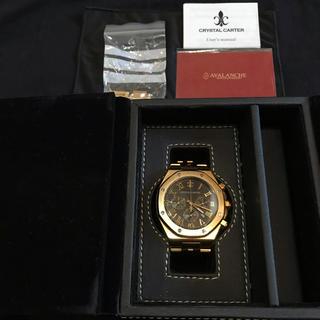 アヴァランチ(AVALANCHE)のcrystal carter(腕時計(アナログ))