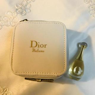 クリスチャンディオール(Christian Dior)のDior 香水サンプル&プチポーチのセット(サンプル/トライアルキット)