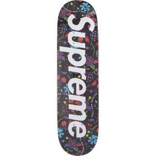 シュプリーム(Supreme)のSupreme エアーブラッシュド フローラル スケートボード スケボーデッキ(スケートボード)