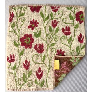 シビラ(Sybilla)のシビラ ハンドタオル(約36×32) 花柄 綿100% 日本製(タオル/バス用品)