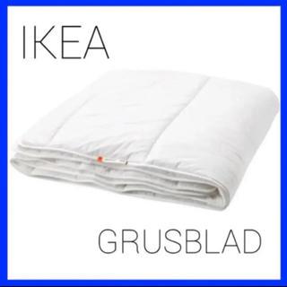 イケア(IKEA)のIKEA GRUSBLAD グルスブラード 掛け布団 やや厚手, (布団)