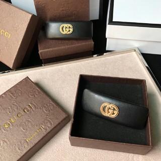 グッチ(Gucci)のGUCCI ヘアバレッタ超人気美品(バレッタ/ヘアクリップ)