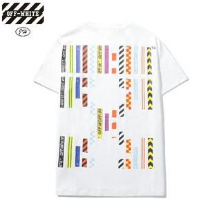 オフホワイト(OFF-WHITE)のOW13●激安!OFF-WHITE Tシャツ  男女兼用  白(Tシャツ(半袖/袖なし))