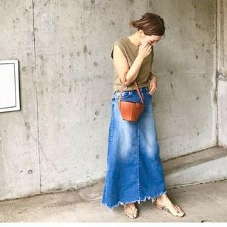 ドゥーズィエムクラス(DEUXIEME CLASSE)のドゥーズィエムクラス☆SURTデニムスカート(ロングスカート)