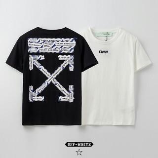 オフホワイト(OFF-WHITE)のOW15●激安!OFF-WHITE Tシャツ  男女兼用  黒/白セット(Tシャツ(半袖/袖なし))