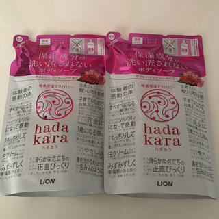 LION - ハダカラ ボディソープ ピュアローズの香り 詰替(360ml)