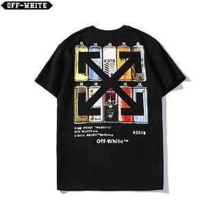 オフホワイト(OFF-WHITE)のOW24●激安!OFF-WHITE Tシャツ  男女兼用  黒(Tシャツ(半袖/袖なし))