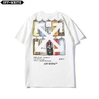 オフホワイト(OFF-WHITE)のOW24●激安!OFF-WHITE Tシャツ  男女兼用  白(Tシャツ(半袖/袖なし))