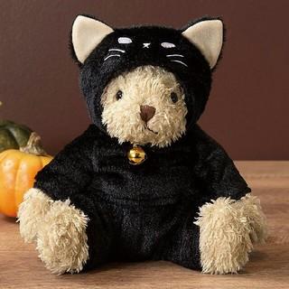 タリーズコーヒー(TULLY'S COFFEE)のタリーズ シャ・ノワール  ベアフル ハロウィン 黒猫  (ぬいぐるみ)