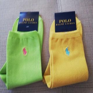 POLO RALPH LAUREN - ラルフローレン靴下新品タグ付き二足セット