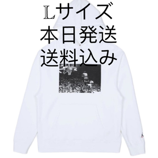 ナイキ(NIKE)のUNION JORDAN FlYING SWEATSHIRT パーカー   L(パーカー)