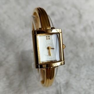 サンローラン(Saint Laurent)のイヴサンローラン腕時計 レディースバングルクォーツ(腕時計)
