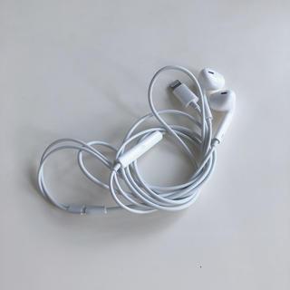 アップル(Apple)のイヤホン【iPhone 正規品】(ヘッドフォン/イヤフォン)