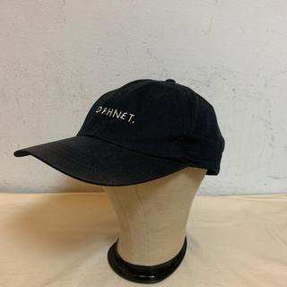 ソフ(SOPH)のsophnet soph キャップ 帽子 デザイン ロゴ レディース 古着 女子(キャップ)