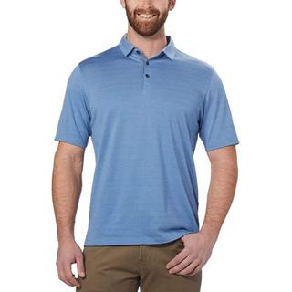 コストコ(コストコ)の新品 XL ★ コストコ メンズ 半袖 ポロシャツ ブルー US-L(ポロシャツ)