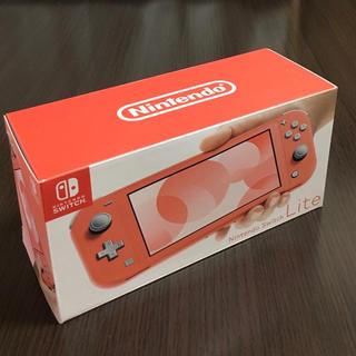 ニンテンドースイッチ(Nintendo Switch)の新品 ニンテンドー スイッチライトコーラル Switch Lite 本体(家庭用ゲーム機本体)