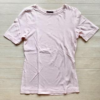フォーティーファイブアールピーエム(45rpm)の45rpm レディース 半袖 Tシャツ サイズ 1 さくら色 桜 ピンク(Tシャツ(半袖/袖なし))