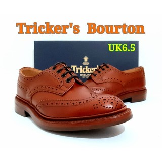 トリッカーズ(Trickers)の新品 Tricker's Bourton UK6.5 トリッカーズ バートン(ドレス/ビジネス)