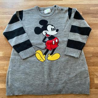 ディズニー(Disney)のミッキーチュニック 95(ニット)