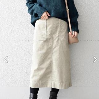 シップス(SHIPS)の新品 SHIPSコーデュロイスカート(ひざ丈スカート)