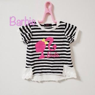 バービー(Barbie)の【90】バービー 半袖 半袖 ボーダー(Tシャツ/カットソー)